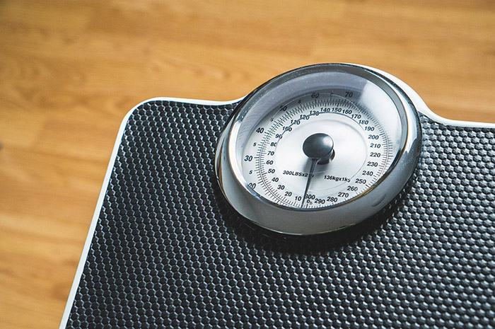 weight scale measurement error